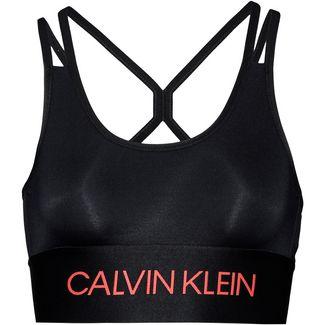 Calvin Klein Sport-BH Damen ck black-fiery coral