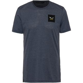 SALEWA Small Box Funktionsshirt Herren ombre blue melange