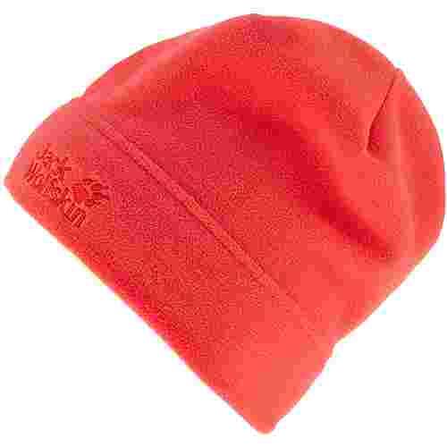 Jack Wolfskin Real Stuff Beanie orange coral