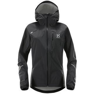 Haglöfs L.I.M Jacket Regenjacke Damen True Black