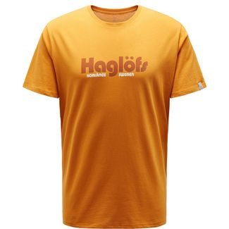 Haglöfs Camp Tee Funktionsshirt Herren Desert Yellow