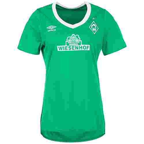 UMBRO SV Werder Bremen 19/20 Auswärts Fußballtrikot Damen grün / weiß