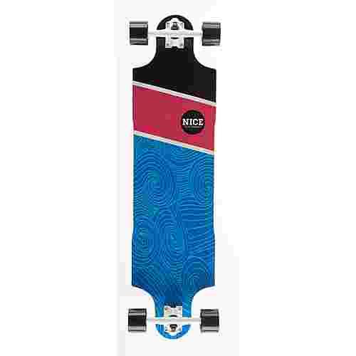 """NICE SKATEBOARDS Nice Ocean 38,5"""" x 10"""" Longboard bunt"""