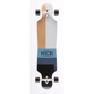 """NICE SKATEBOARDS Nice Square 40"""" x 9,25"""" Longboard bunt"""