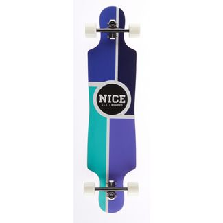 """NICE SKATEBOARDS Nice Metro 40"""" x 9,25"""" Longboard bunt"""