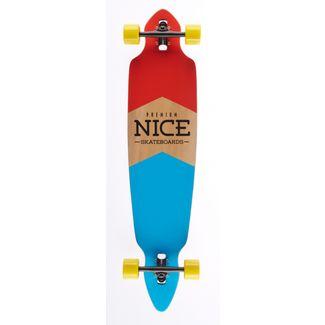 """NICE SKATEBOARDS Nice Flag 42"""" x 9"""" Longboard bunt"""