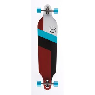 "NICE SKATEBOARDS Nice Flash 42"" x 9,5"" Longboard bunt"