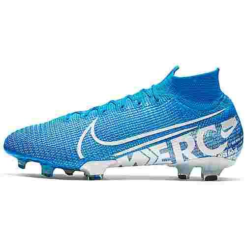 Nike MERCURIAL SUPERFLY 7 ELITE FG Fußballschuhe Herren blue hero-white-volt-obsidian
