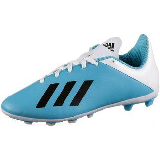adidas X 19.4 FxG J Fußballschuhe Kinder bright cyan