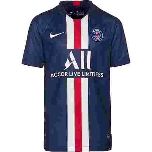 Nike Paris Saint-Germain 19/20 Heim Fußballtrikot Kinder midnight navy-white