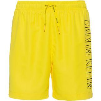 Calvin Klein Intense Power 2.0 Badeshorts Herren blazing yellow