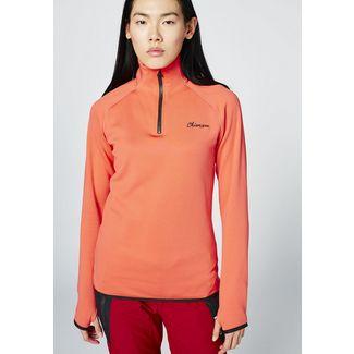 Chiemsee Fleece Pullover Sweatshirt Damen Hot Coral