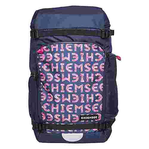 Chiemsee Rucksack Daypack Dark Blue/Pink