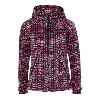 Chiemsee Softshelljacke Softshelljacke Damen Pink/Black AOP
