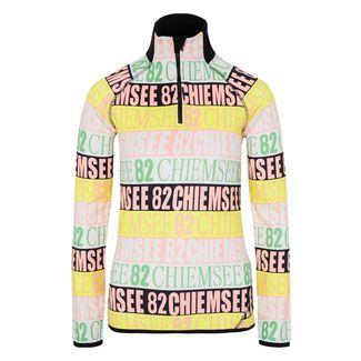 Chiemsee Fleece Pullover Sweatshirt Damen White/Pink AOP