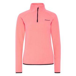 Chiemsee Fleece Pullover Sweatshirt Damen Neon Pink