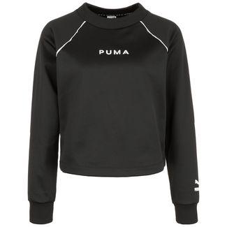 PUMA XTG Crew Sweatshirt Damen schwarz / weiß