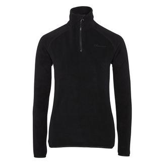 Chiemsee Fleece Pullover Sweatshirt Damen Deep Black