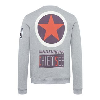 Chiemsee Unisex Sweatshirt Sweatshirt Neutral Gray
