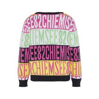 Chiemsee Pullover Strickpullover Kinder White/Pink-AOP