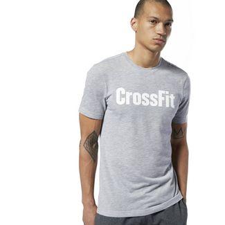 Reebok Reebok CrossFit® T-Shirt Funktionsshirt Herren Medium Grey Heather / White