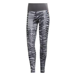 adidas High Rise 7/8-Tight Tights Damen Mgh Solid Grey / Print