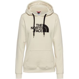 The North Face Drew Peak Hoodie Damen vintage white-tnf black