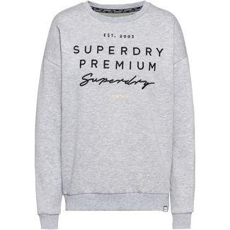 Superdry Sweatshirt Damen mid grey marl