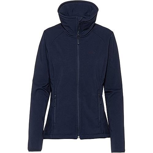 Jack Wolfskin Rock Valley Softshelljacke Damen midnight blue im Online Shop von SportScheck kaufen