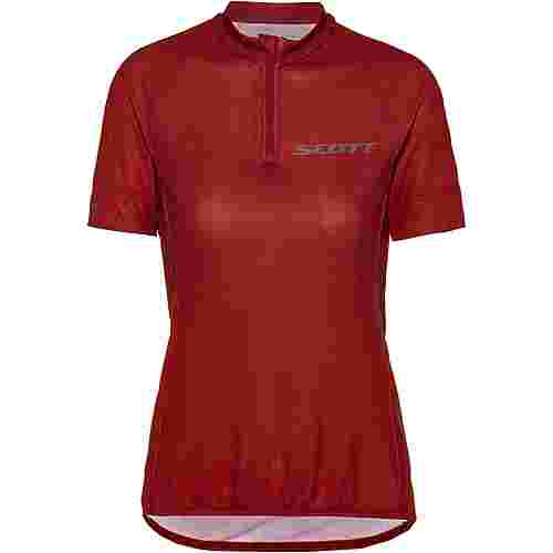 SCOTT Endurance 30 Fahrradtrikot Damen merlot red