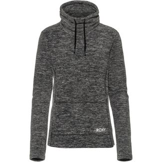 Roxy Sno Flak Fleecehoodie Damen charcoal heather
