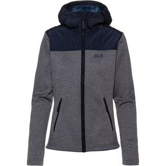 Jack Wolfskin Pacific Sky Fleecejacke Damen midnight blue