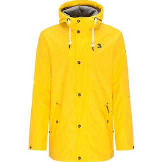 Schmuddelwedda Regenjacke Herren gelb