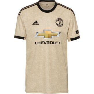 adidas Manchester United 19/20 Auswärts Fußballtrikot Herren linen