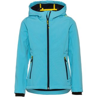CMP Softshelljacke Kinder turchese
