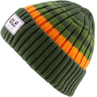 Jack Wolfskin Beanie Kinder antique-green