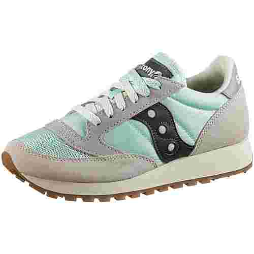 Saucony Jazz Original Sneaker Damen tan-light blue-black