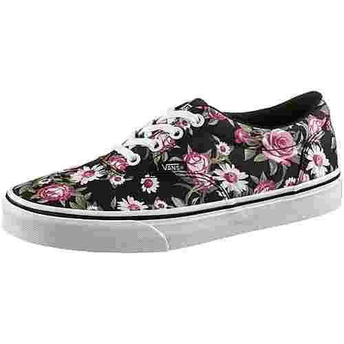 Vans Doheny Sneaker Damen black roses