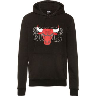 New Era Chicago Bulls Hoodie Herren black