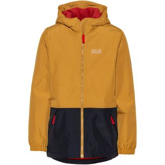 Jack Wolfskin Snowy Days Outdoorjacke Kinder golden-amber