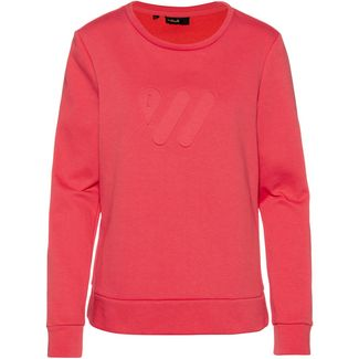 SCHECK Sweatshirt Damen dunkelrosa