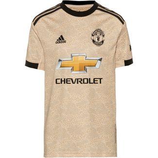 adidas Manchester United 19/20 Auswärts Fußballtrikot Kinder linen