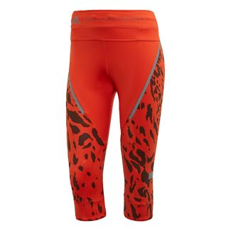 adidas Run 3/4-Tight Tights Damen Rust Red-Smc / Grey