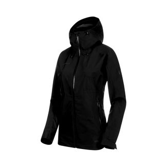 Mammut Convey Tour HS Hooded Jacket Women Hardshelljacke Damen black