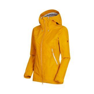 Mammut Ridge HS Hooded Jacket Women Hardshelljacke Damen golden