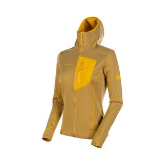 Mammut Aconcagua Light ML Hooded Jacket Women Fleecejacke Damen golden