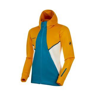 Mammut Avers ML Hooded Jacket Men Fleecejacke Herren golden-sapphire