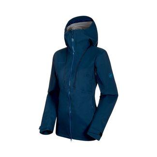 Mammut Haldigrat HS Hooded Jacket Women Hardshelljacke Damen wing teal