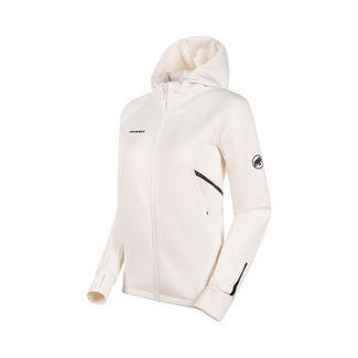 Mammut Avers ML Hooded Jacket Women Fleecejacke Damen bright white