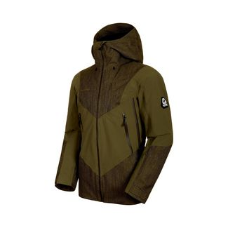 Mammut Cambrena HS Thermo Hooded Jacket Men Hardshelljacke Herren iguana